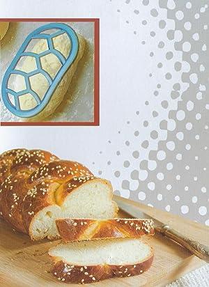 Bread Loaf Plaiting Twist Stamp - Roll/Bun/Bread Maker Loaf Stamp Shaper - Oblong/Round (Oblong)