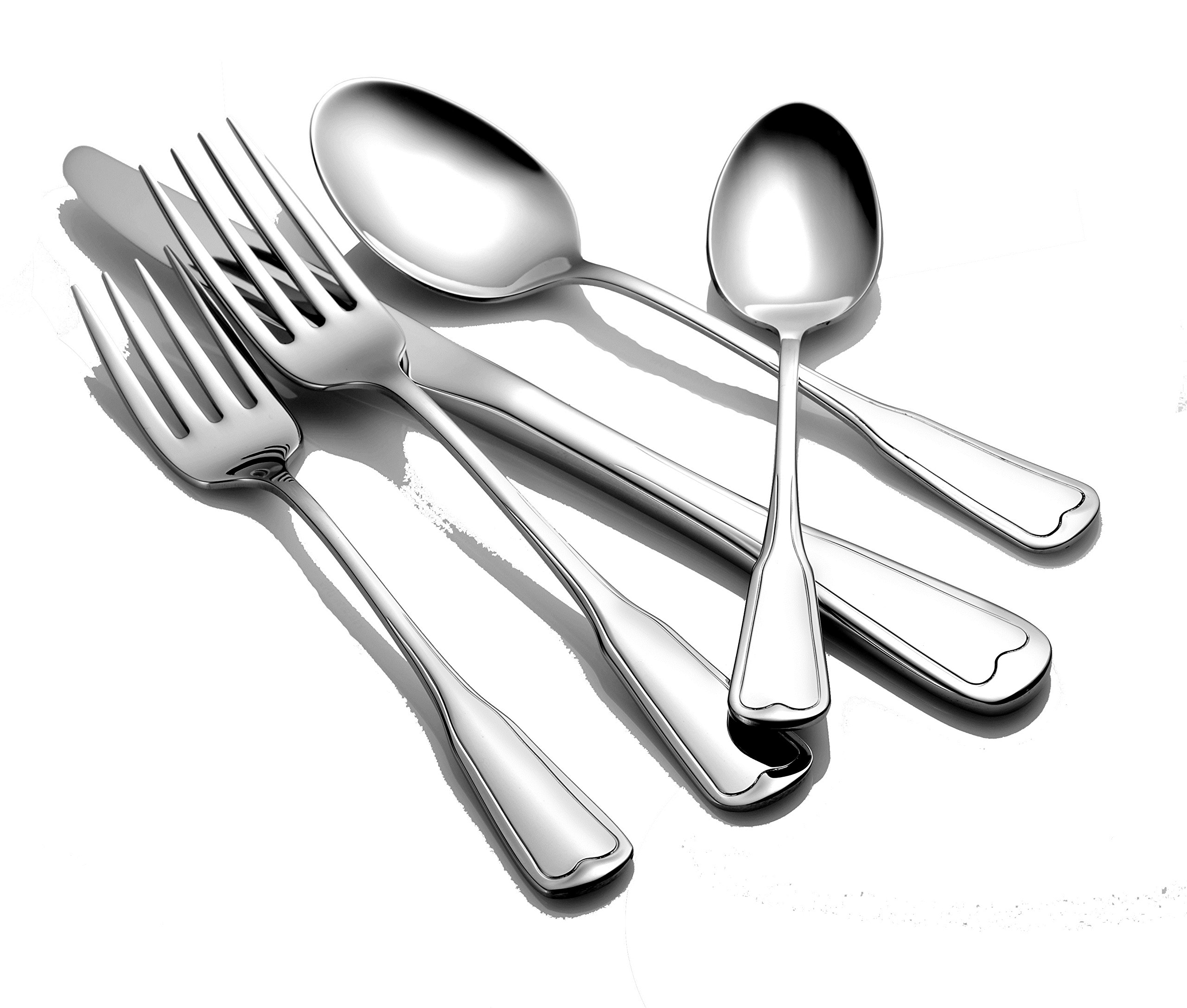 Liberty Tabletop Richmond 20 Piece Flatware Set service for 4 stainless steel 18/10 Made in USA by Liberty Tabletop (Image #3)