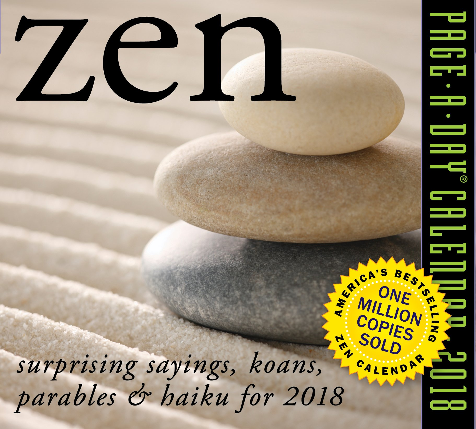 Zen Page Day Calendar 2018 product image