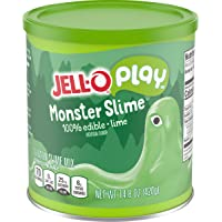 Jell-O Play Slime Making Kit, Monster Slime (14.8 oz Mix)