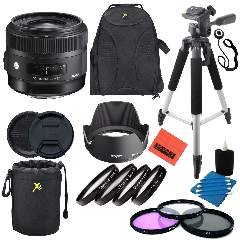 シグマ30 mm f / 1.4 DC HSM Artレンズfor Canon DSLRカメラ – プロフェッショナルキット   B019G6NLT0