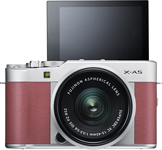 Fujifilm X-A5 w/XC15-45mm Lens Kit - Pink product image 2