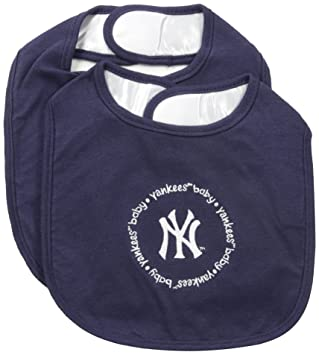 Amazon.com: Bebé Fanatic Team Color baberos, los NY Yankees ...