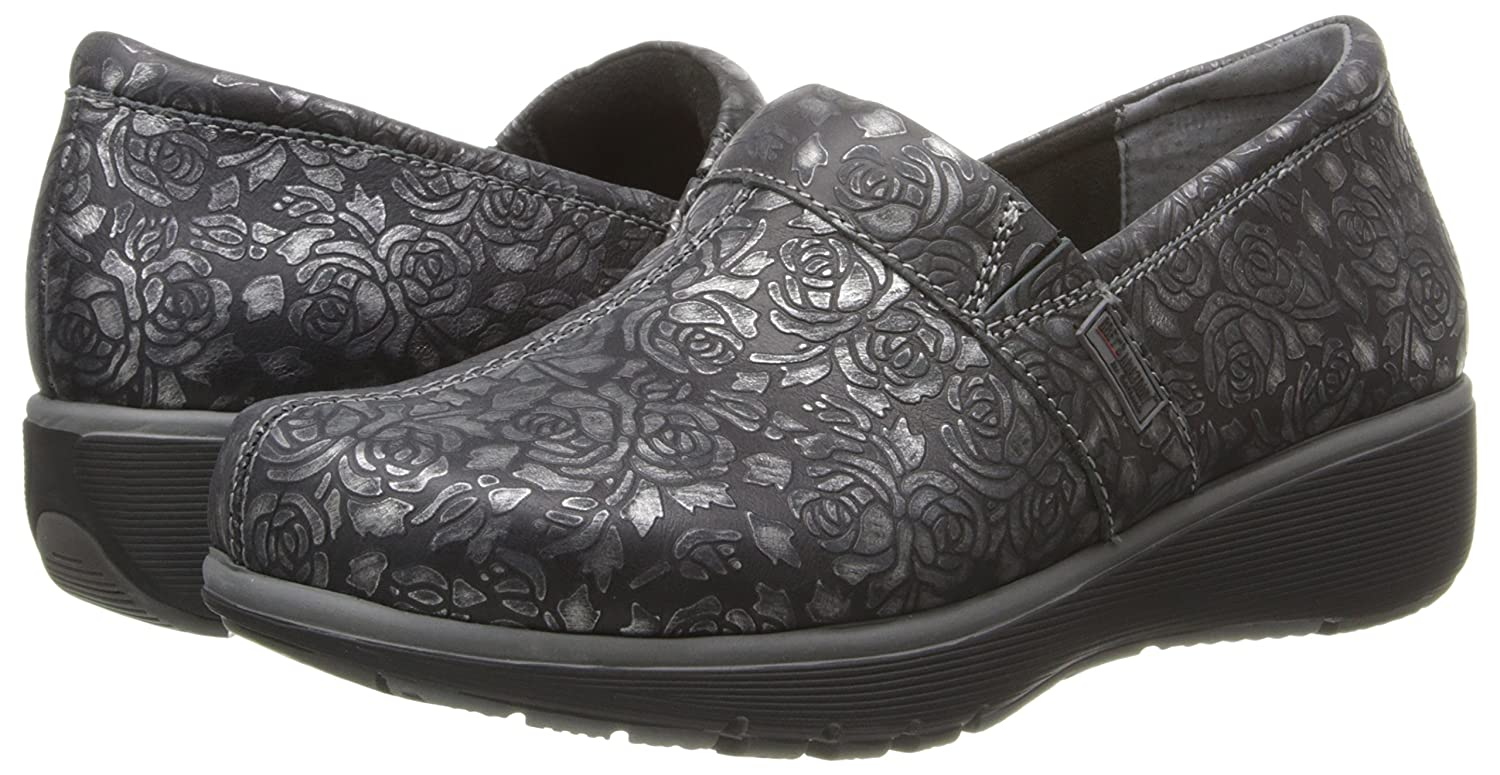 SoftWalk Women's Meredith Clog B00S30EYGA 6 W US|Black Met