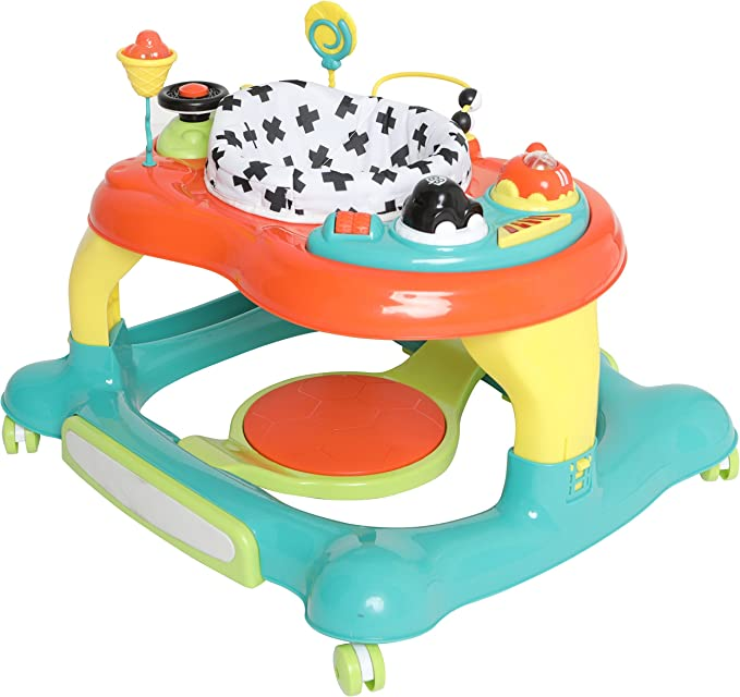 Mychild Roundabout 4 in 1 Activity Walker Citrus