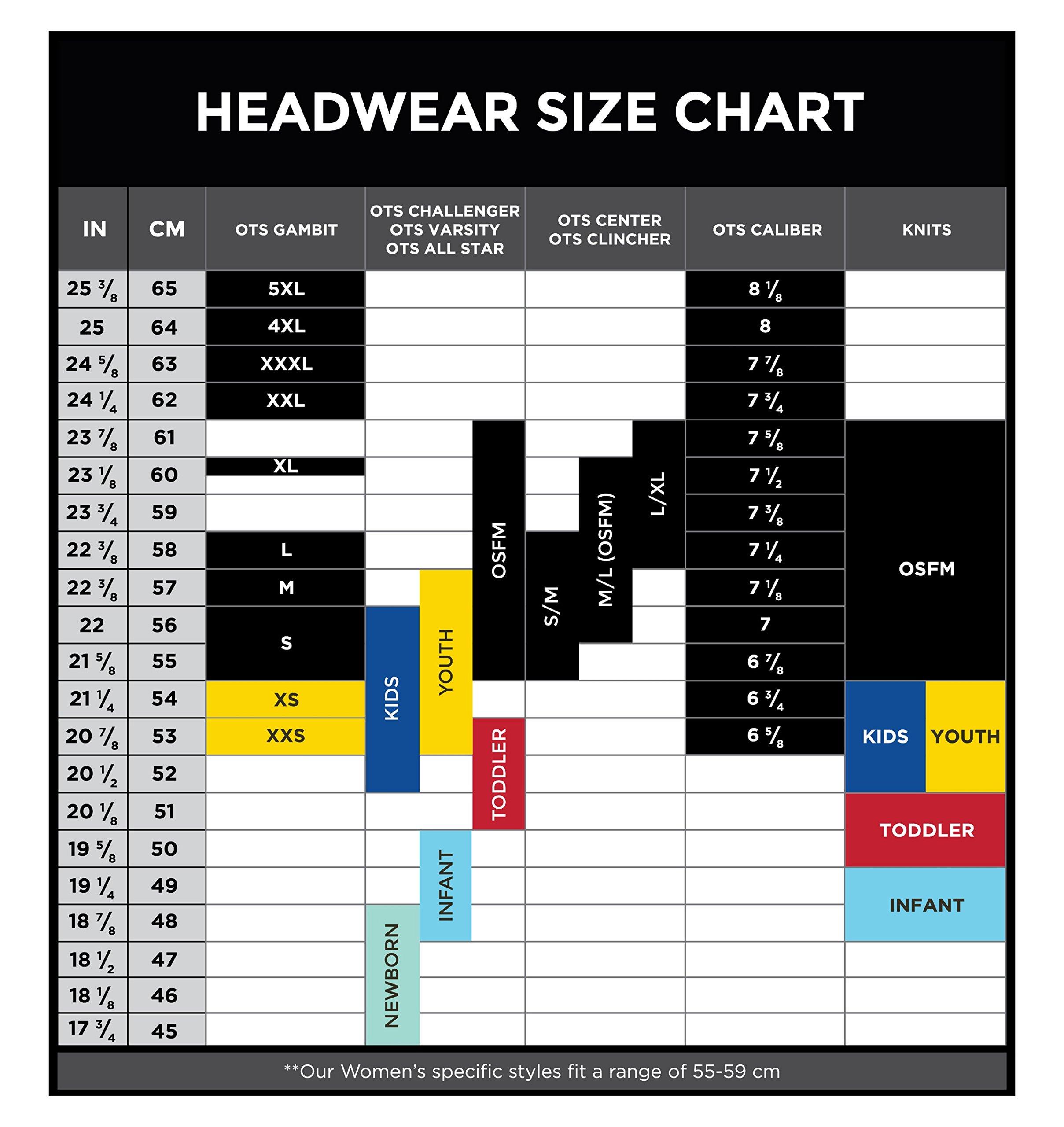 NFL Men's OTS Start Line Center Stretch Fit Hat 4