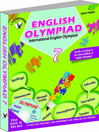 International English Olympiad - Class 7  with CD: Essential Principles with Examples; Mcqs and Solutions; Model Test Papers