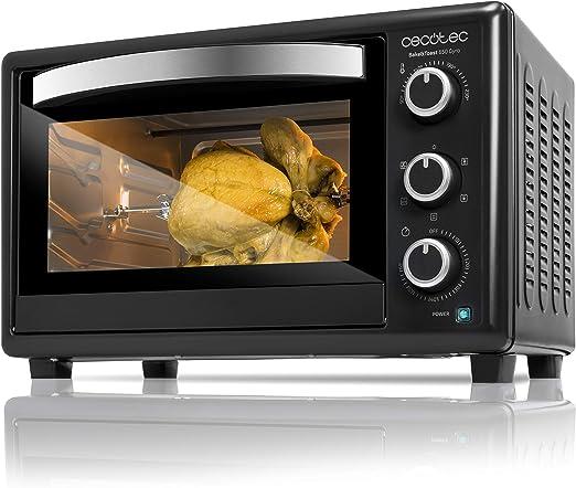 Cecotec Bake&Toast 650 Gyro - Horno Sobremesa, capacidad