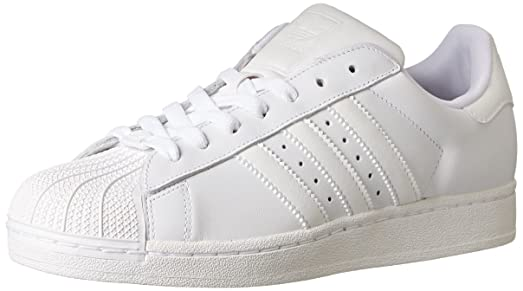 adidas Originals Women\u0027s Superstar 2 Basketball-Style Sneaker, Ftwr  White/Running White/