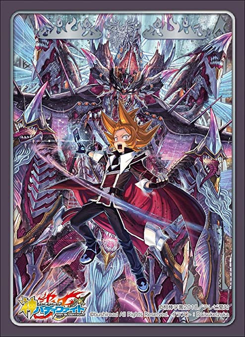 Future Card Buddyfight Vile Demonic Husk Deity Dragon Card Game Character Sleeves Collection HG Vol.62 High Grade Anime Art