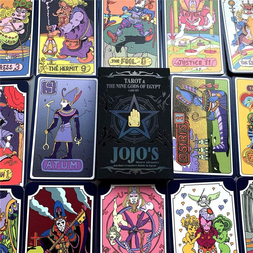 Anime JoJo/'s Bizarre Adventure Cosplay Tarot Card 31 PCS Board Game With Box