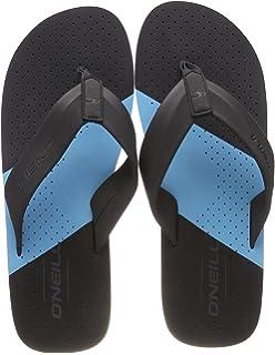 FM Imprint Punch Flip Flops, Chaussures de Plage Et Piscine Homme, Bleu (Pure Cyan), 40 EUO'Neill