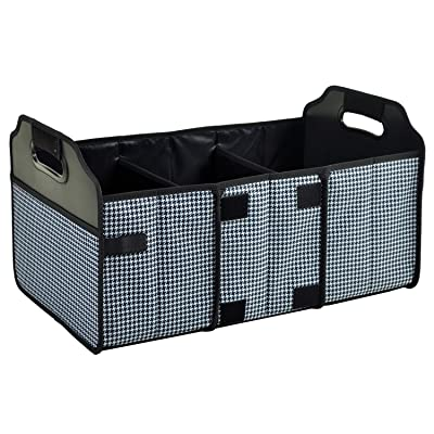 Picnic at Ascot 3 Section Folding Trunk Organizer- Designed & Quality Approved in the USA: Kitchen & Dining [5Bkhe1008918]