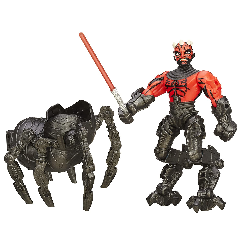 amazon com star wars hero mashers deluxe darth maul toys games