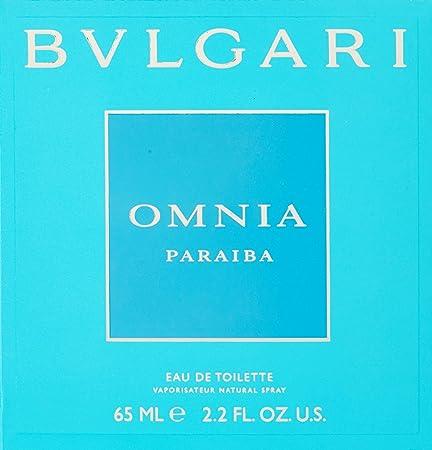 BVLGARI Omnia Paraiba Eau de Toilette Spray, 2.2 Ounce