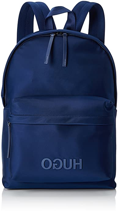 09c442b5acf HUGO Record, Men s Backpack, Blue (Dark Blue), 16x44x30 cm (B x H T)   Amazon.co.uk  Shoes   Bags