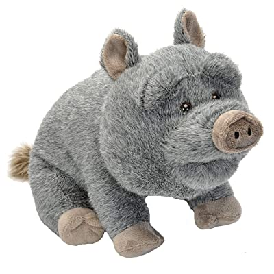 Wild Republic Potbelly Pig Plush, Stuffed Animal, Plush Toy, Gifts For Kids, Cuddlekins 12 Inches: Toys & Games