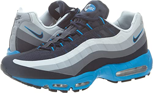 Foldable Men Nike Black Red Running Shoes Air Max 95 Fashionable