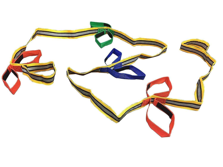 Ganen Baby Kid Walking Rope Safety Rope Noctilucent for Preschool Children Toddlers Daycare Schools Teachers (8children)