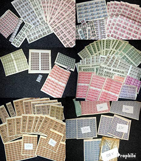 Prophila Collection España más de 300 Completa pliegos España y áreas (Sellos para los coleccionistas): Amazon.es: Juguetes y juegos