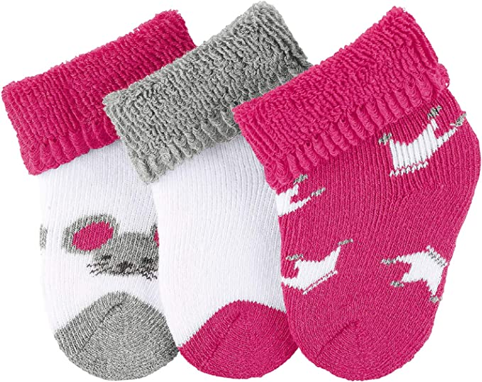 3er Pack Sterntaler Unisex Baby Erstlingssöckchen Socken,