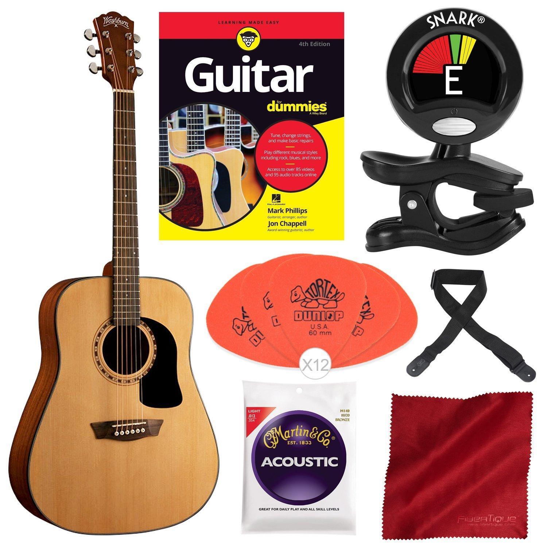 Washburn Apprentice 5 Series AD5K - Guitarra acústica para dummies ...