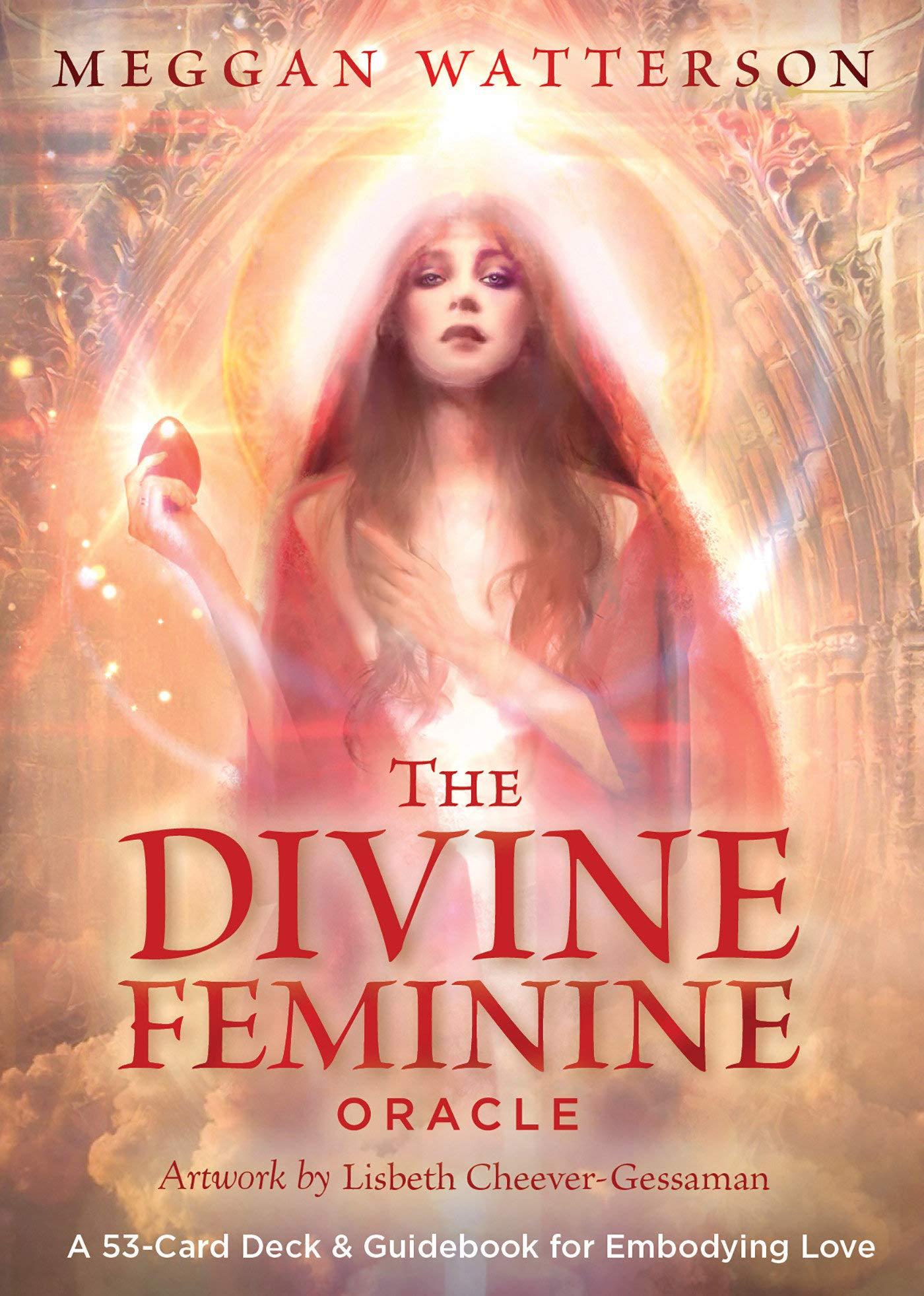 Cartas oraculo The Divine Feminine [Importadas] xsr