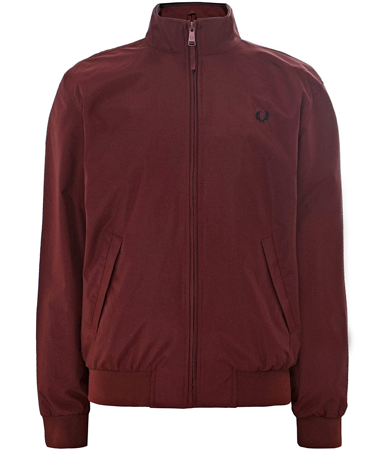 Fred Perry Men's Brentham Jacket Red