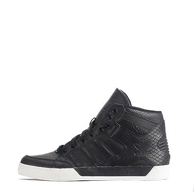 brand new 29257 2d86e adidas Originals Hard Court Hi Baskets pour Homme Chaussures - Noir - Noir,  45 1