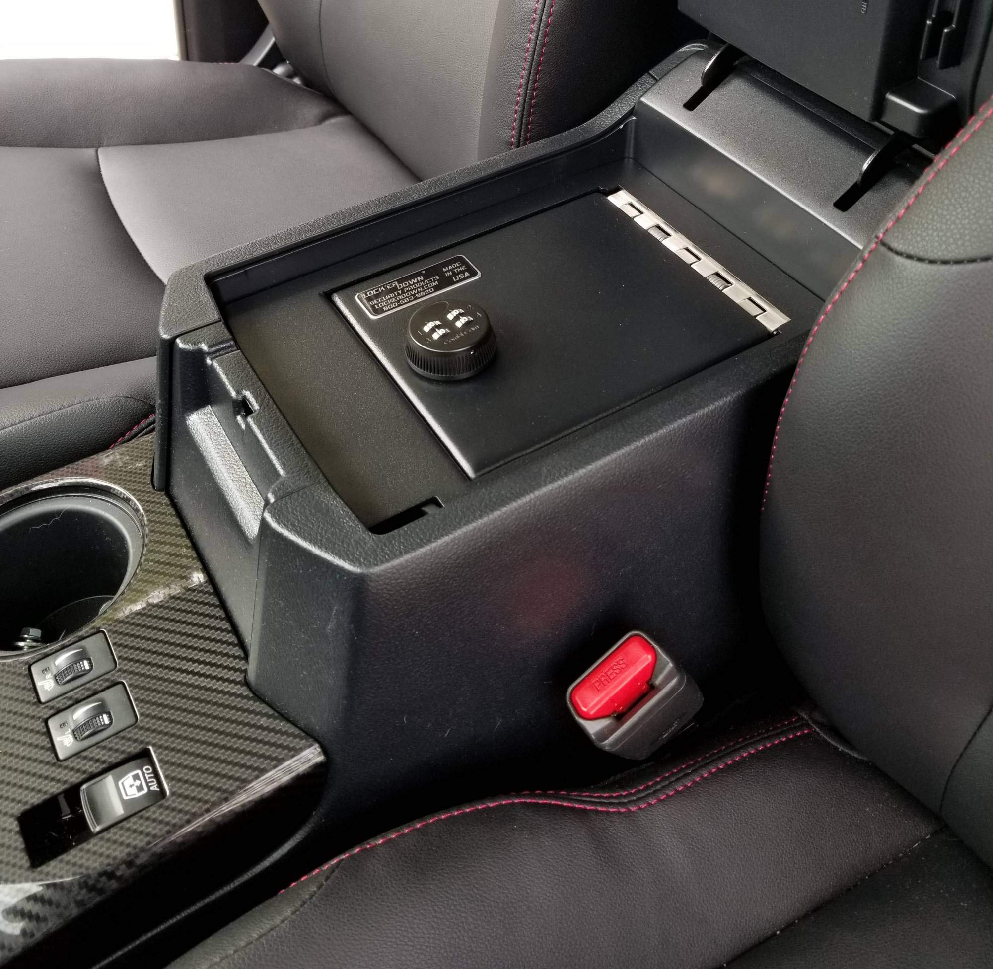 Lock'er Down Console Safe with 4 Digit Combo, Works with 2010 - 2019 Toyota 4Runner by Lock'er Down® (Image #3)