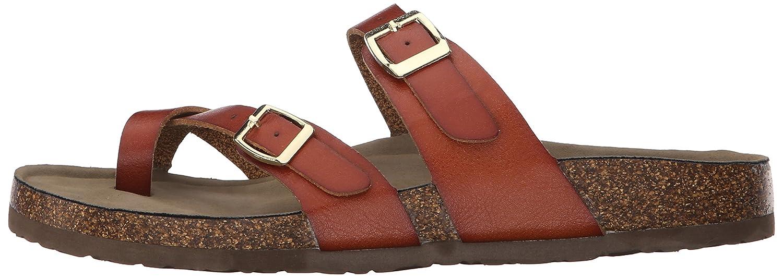Madden Girl Women's Bryceee Toe Ring Sandal B01715VGQ8 7 B(M) US|Cognac Paris