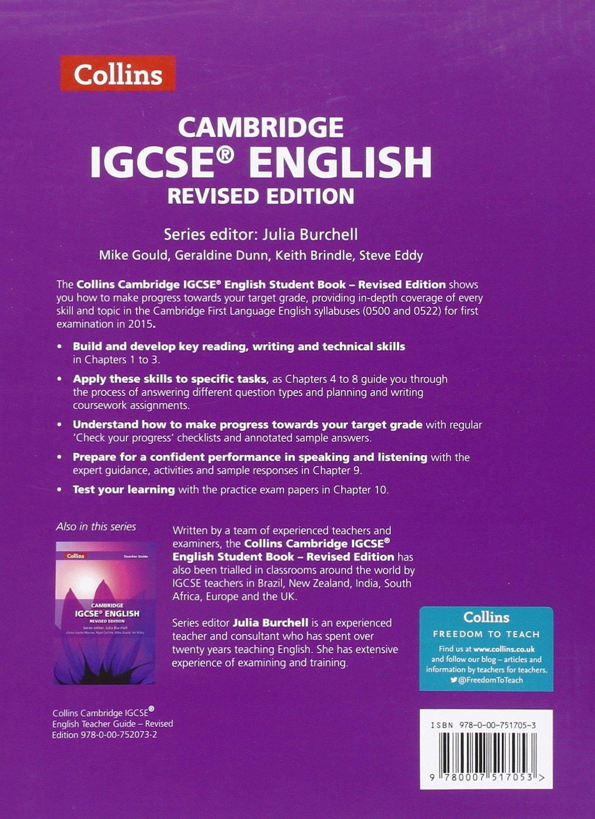 igcse english coursework