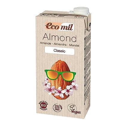 ecomil Almond Milk Classic – 1 l almendra Leche bio, Vegano)