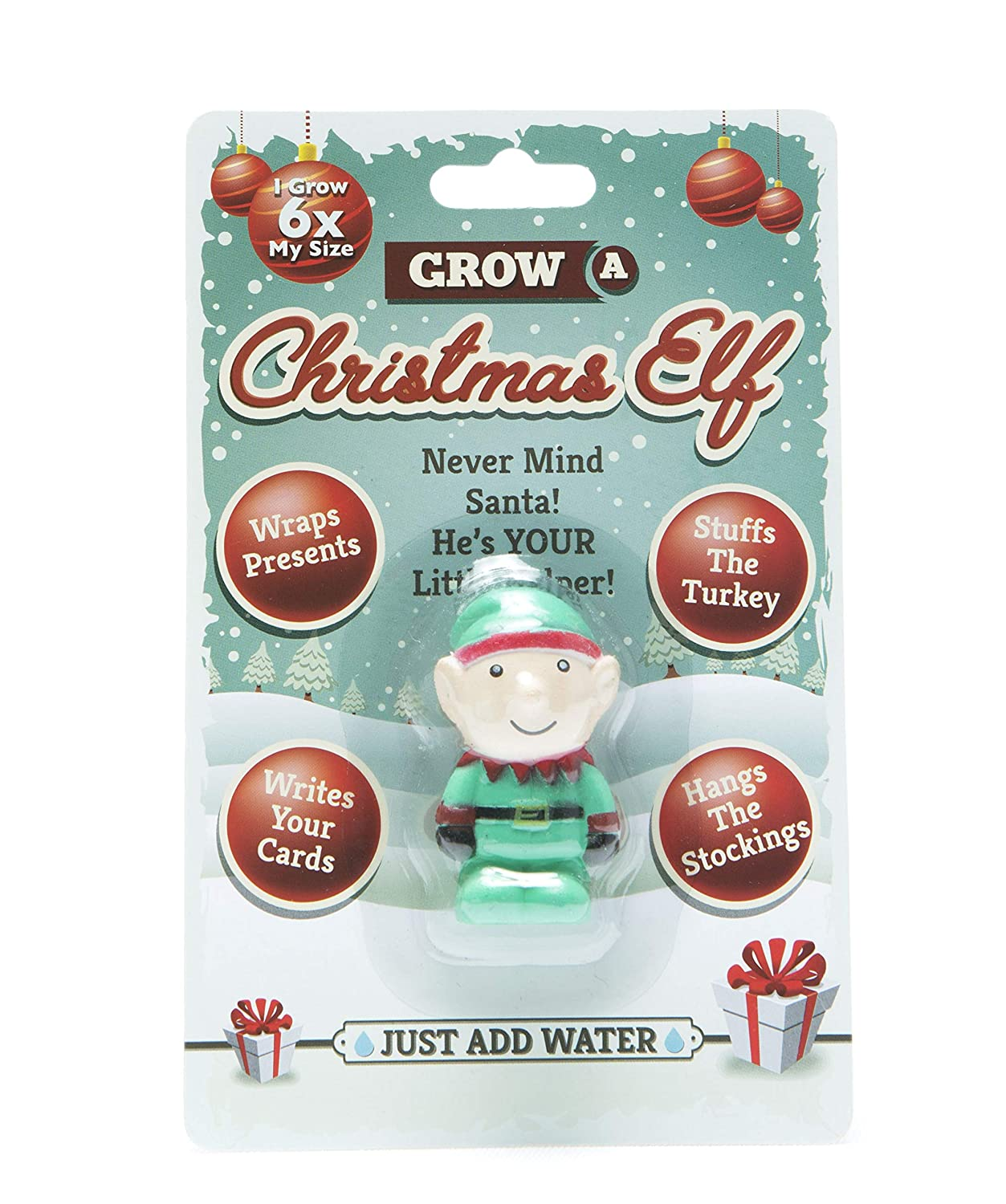 Boxer Gifts BB5222 Grow A Christmas ELF, Red