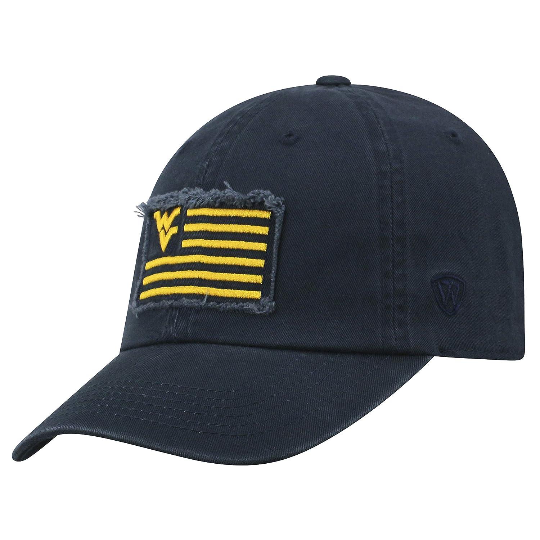 Amazon.com   Top of the World WVU Flag 4 Snapback Cap   Sports   Outdoors 01a9928f966