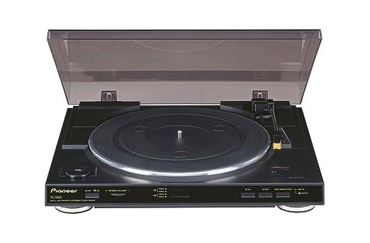 111 opinioni per Pioneer PL-990 Giradischi stereo completamente automatico Nero/Black