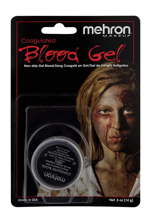 Mehron Makeup Coagulated Blood (.5 oz), Red 151C