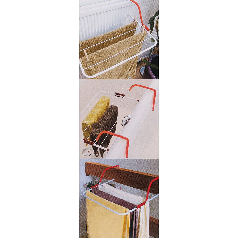 Amazon.com: EG Homewares Radiador plegable Tendedero toalla ...