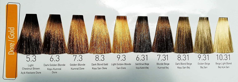 Wox Hair Color Cream 6,31 - Tinte para el cabello (100 ml ...