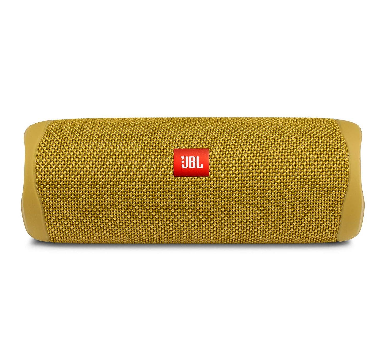 Parlante Portatil Bluetooth Jbl Flip 5 Nuevo Modelo 12 Horas De Bateria Resistente Al Agua, Color amarillo