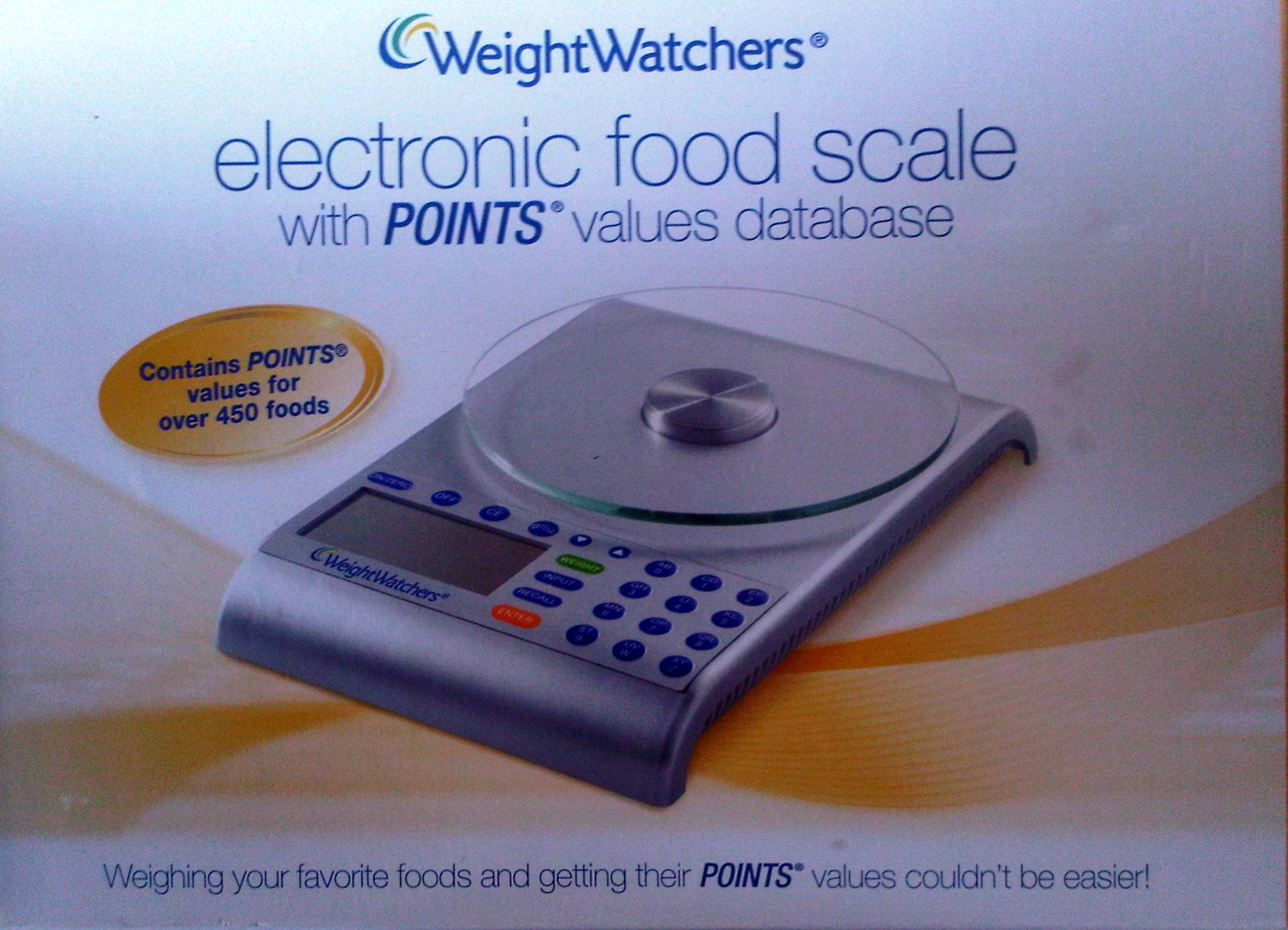 Weight Watchers Electronic Food Scale and Database
