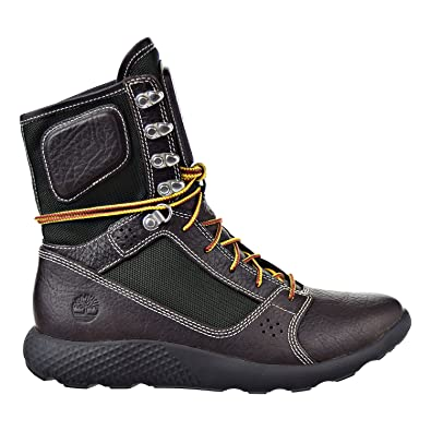 32a4d67c9465 Timberland Limited Realese Flyroam Tactical Leather Men s Boot Dark Brown Green  tb0a1nk3 (7.5 D