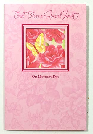 Mothers day card auntgod bless a special aunt on mothers day mothers day card auntgod bless a special aunt on mothers day m4hsunfo