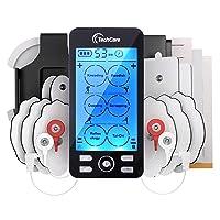 Tens Unit Plus 24 Rechargeable Electronic Pulse Massager Machine Multi Mode Device...