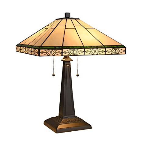 Amazon.com: Chloe Lighting Chloe Tiffany Mission Design ...