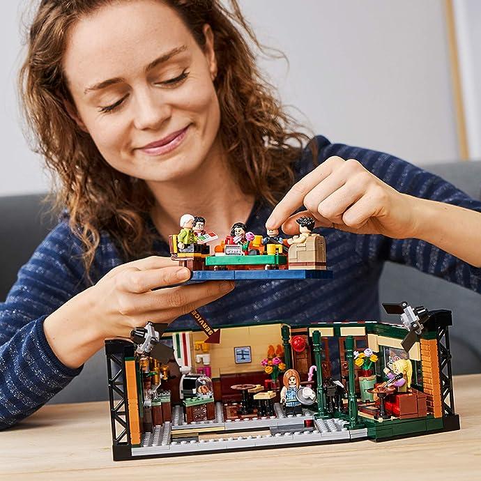 补货 LEGO 乐高 11月新品 Ideas系列 21319 美剧老友记 中央咖啡厅 积木玩具 $59.99 海淘转运到手约¥518
