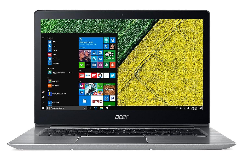 "Acer Swift 3 SF314-52-74JS Notebook, 14"" FHD LCD, Intel Core i7-7500U, RAM 8 GB DDR4, 256 GB Intel PCIe SSD, Argento"
