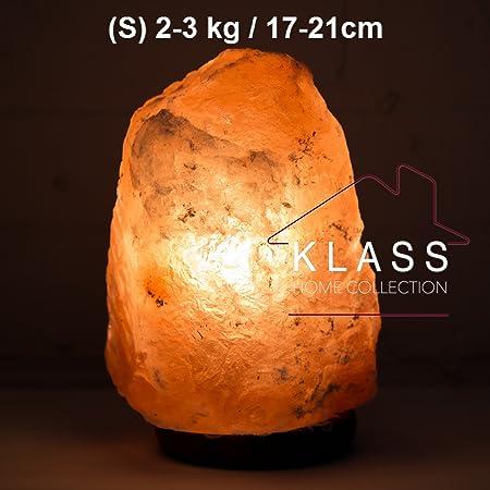 Natural Ionising Himalayan Pink Rock Crystal Salt Night Desk