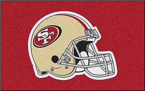 FANMATS NFL San Francisco 49ers Nylon Face Ultimat Rug