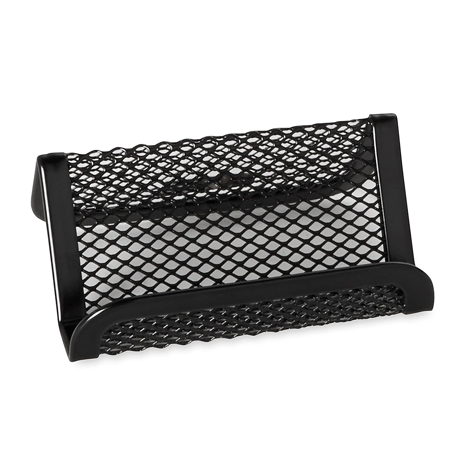 rolodex mesh business card holder black